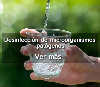 Desinfeccion de microorganismos patogenos