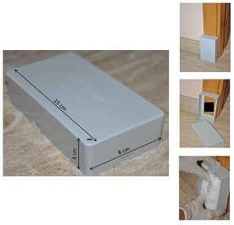 ESTACIONES BOX. Sistema de cebos para controlar y eliminar termitas
